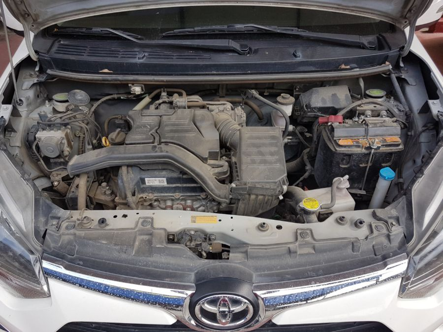 2018 Toyota wigo G - Interior Rear View
