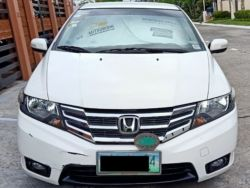 2012 Honda City E - Front View