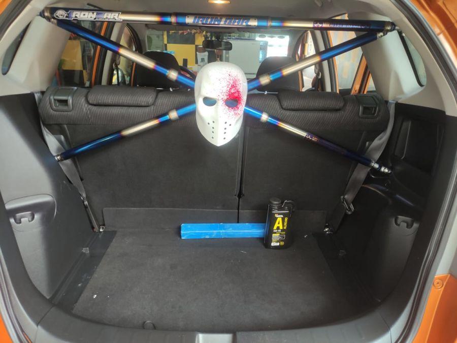 2012 Honda Jazz - Interior Rear View
