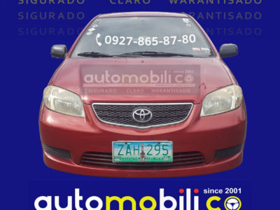2005 Toyota Vios 1.3 J - Front View