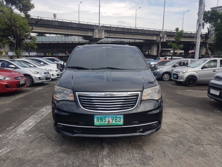2013 Chrysler Town and Country - Front View