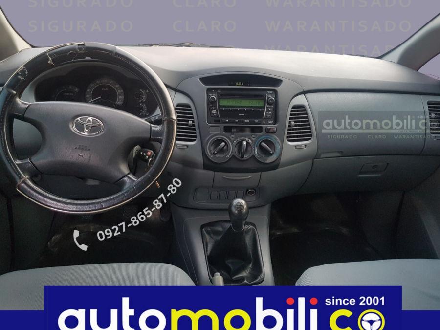 2012 Toyota Innova E - Interior Front View