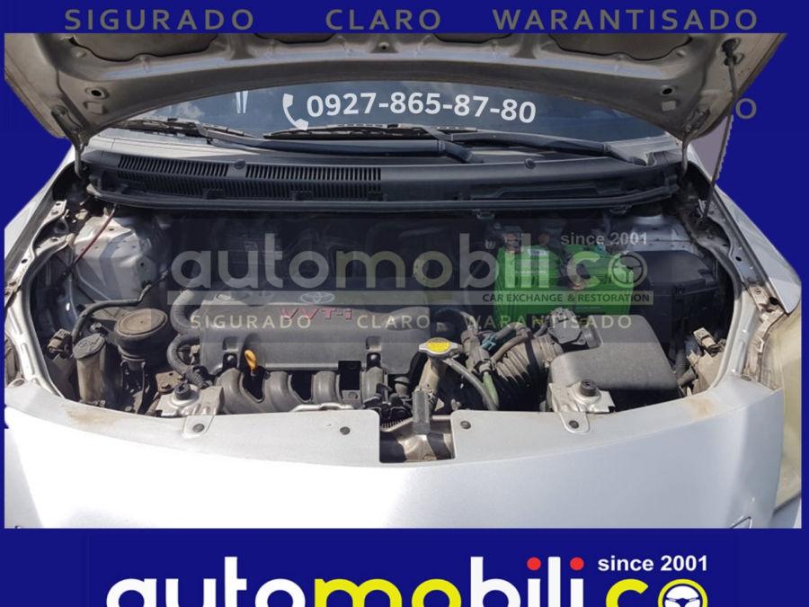 2008 Toyota Vios 1.3 J - Interior Rear View