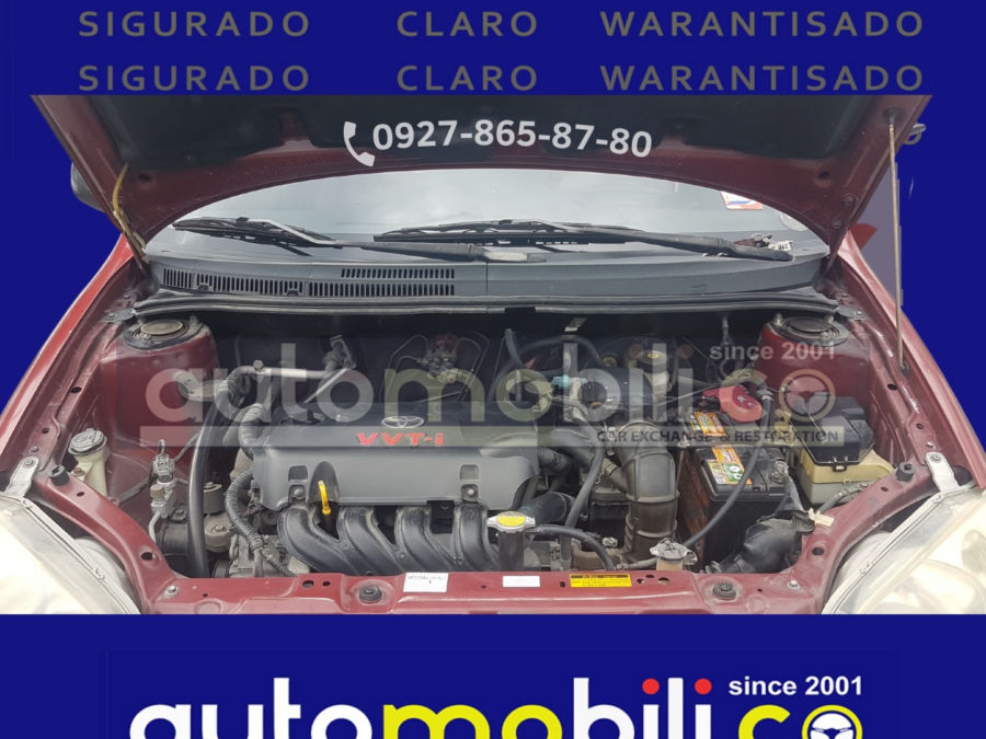 2005 Toyota Vios 1.3 J - Interior Rear View