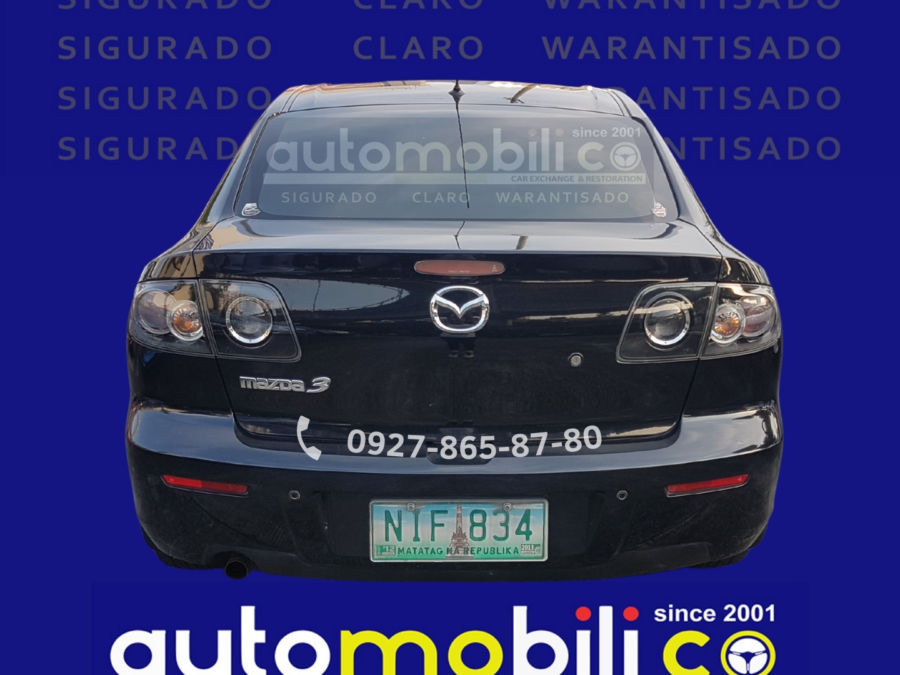 2009 Mazda 3 - Rear View