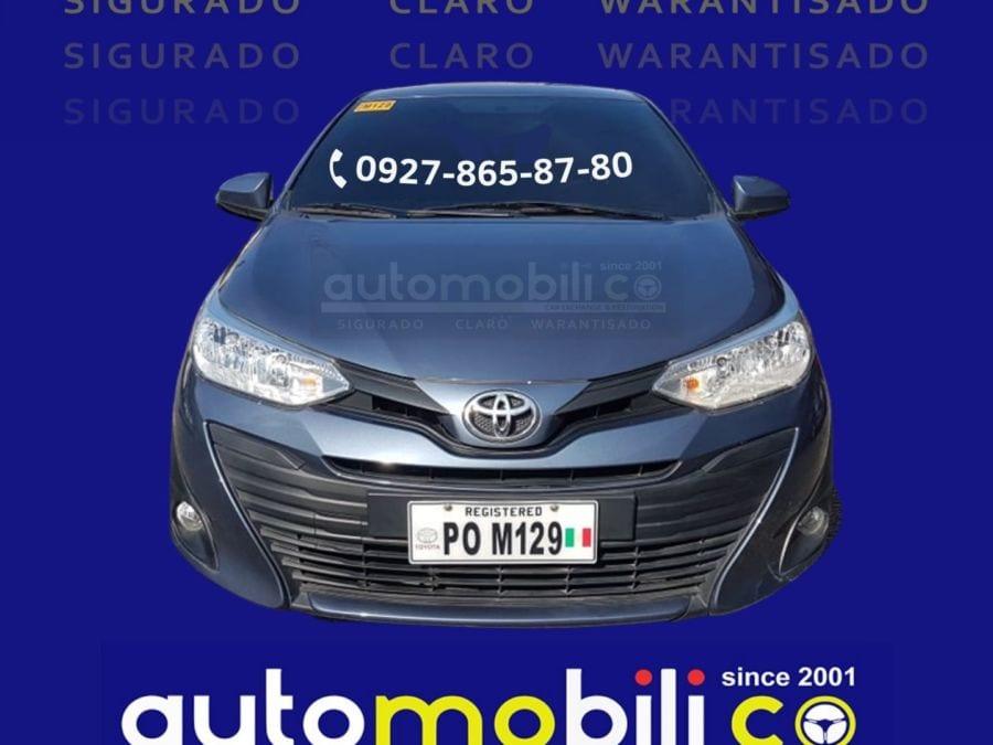 2019 Toyota Vios E - Front View