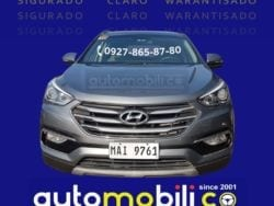 2019 Hyundai Santa Fe CRDi - Front View