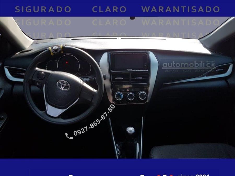 2019 Toyota Vios E - Interior Front View