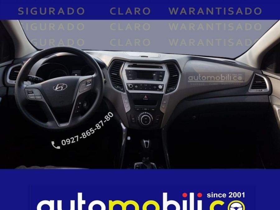2019 Hyundai Santa Fe CRDi - Interior Front View