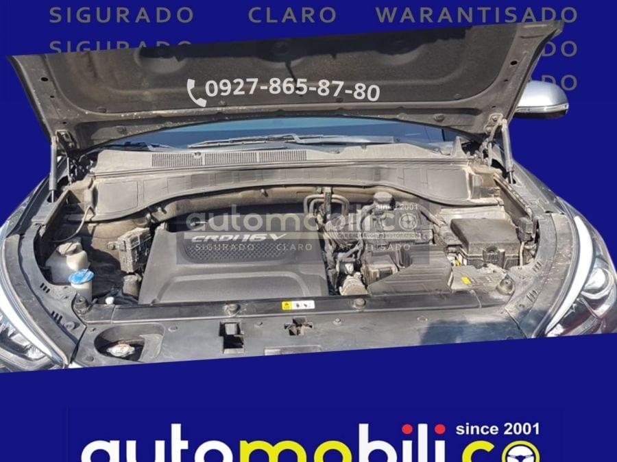 2019 Hyundai Santa Fe CRDi - Interior Rear View