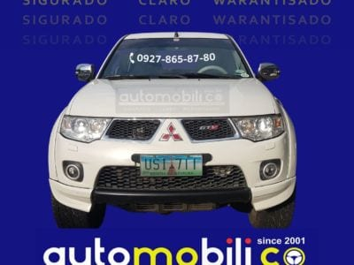 2012 Mitsubishi Montero - Front View