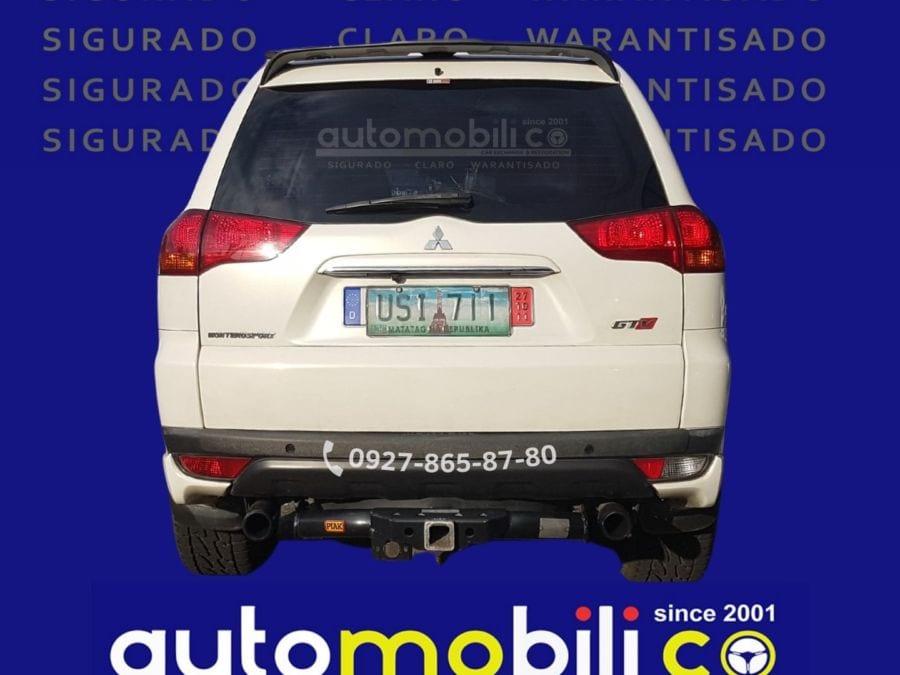 2012 Mitsubishi Montero - Rear View