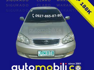2001 Toyota Corolla Altis G - Front View