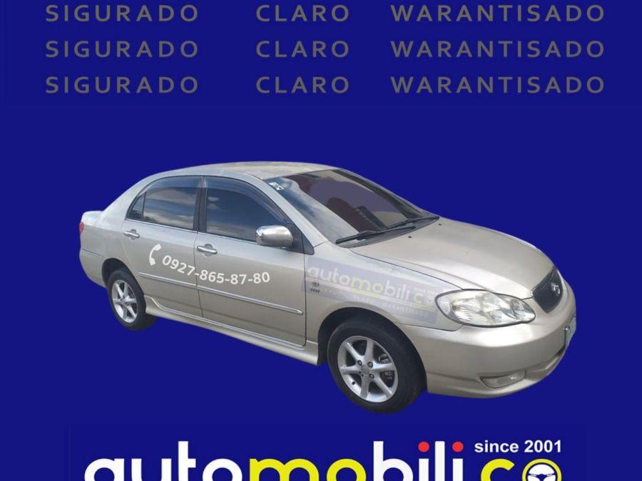2001 Toyota Corolla Altis G - Left View