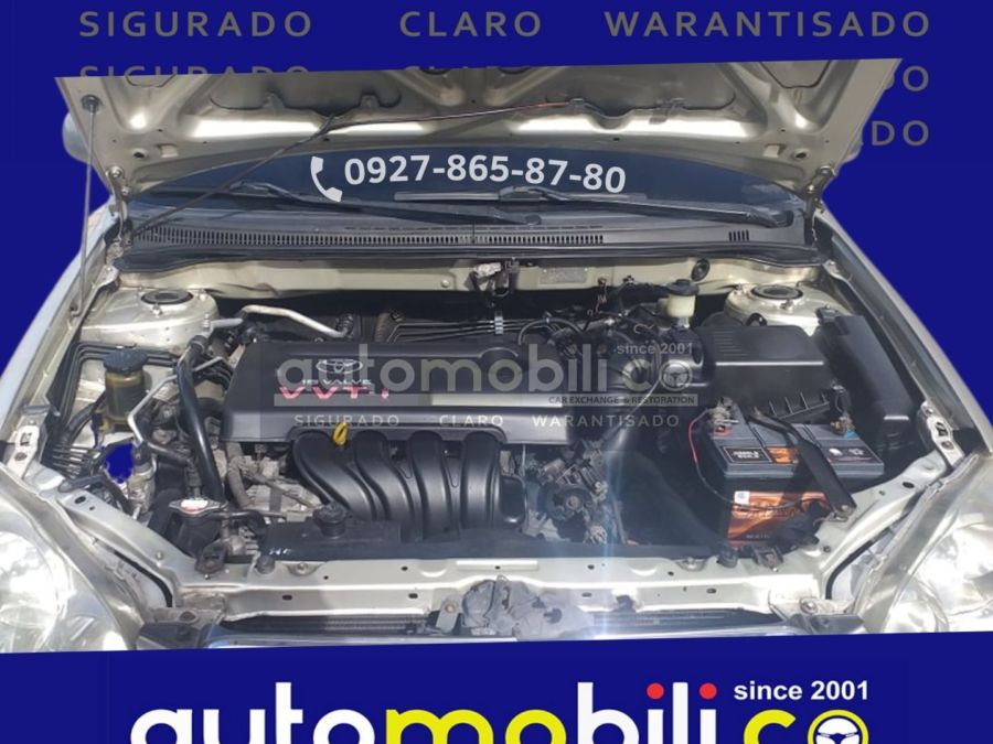 2001 Toyota Corolla Altis G - Interior Rear View