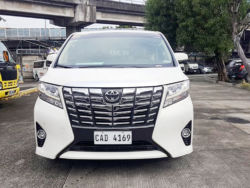 2017 Toyota Alphard - Front View